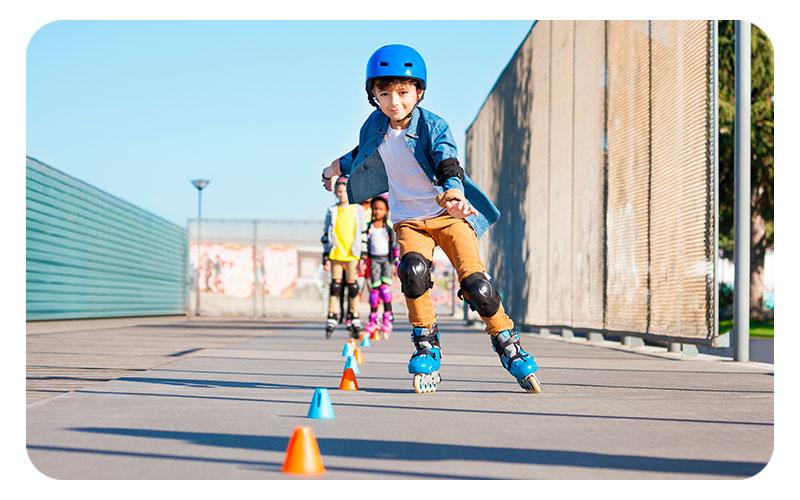 escuela de patinajes para niños